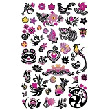 GIRLIE GIRLZ Tattoo Sticker [TM3333-010] - Sticker